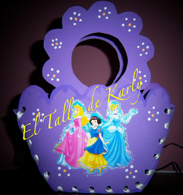 Karly Creativa: DULCERO PRINCESAS