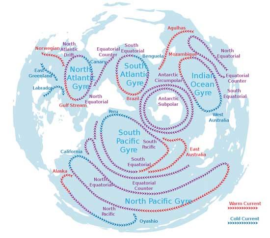 Trash Gyre Ocean