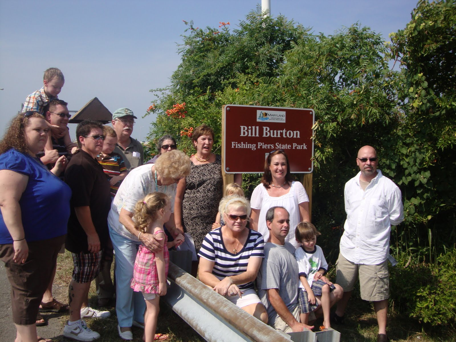 Green team gazette july 2010 for Bill burton fishing pier state park