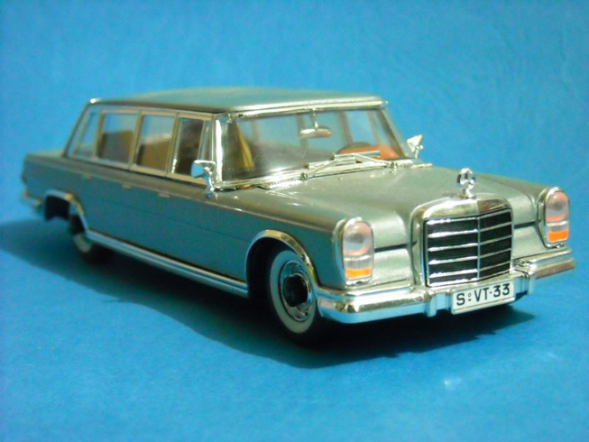 1964 mercedes benz 600 pullman. Vitesse Mercedes Benz 600