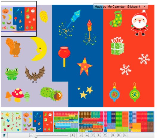 Children S Calendar With Stickers : Fhiona galloway illustration childrens calendar