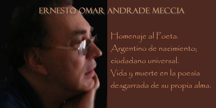 Ernesto Omar Andrade Meccia - Poeta