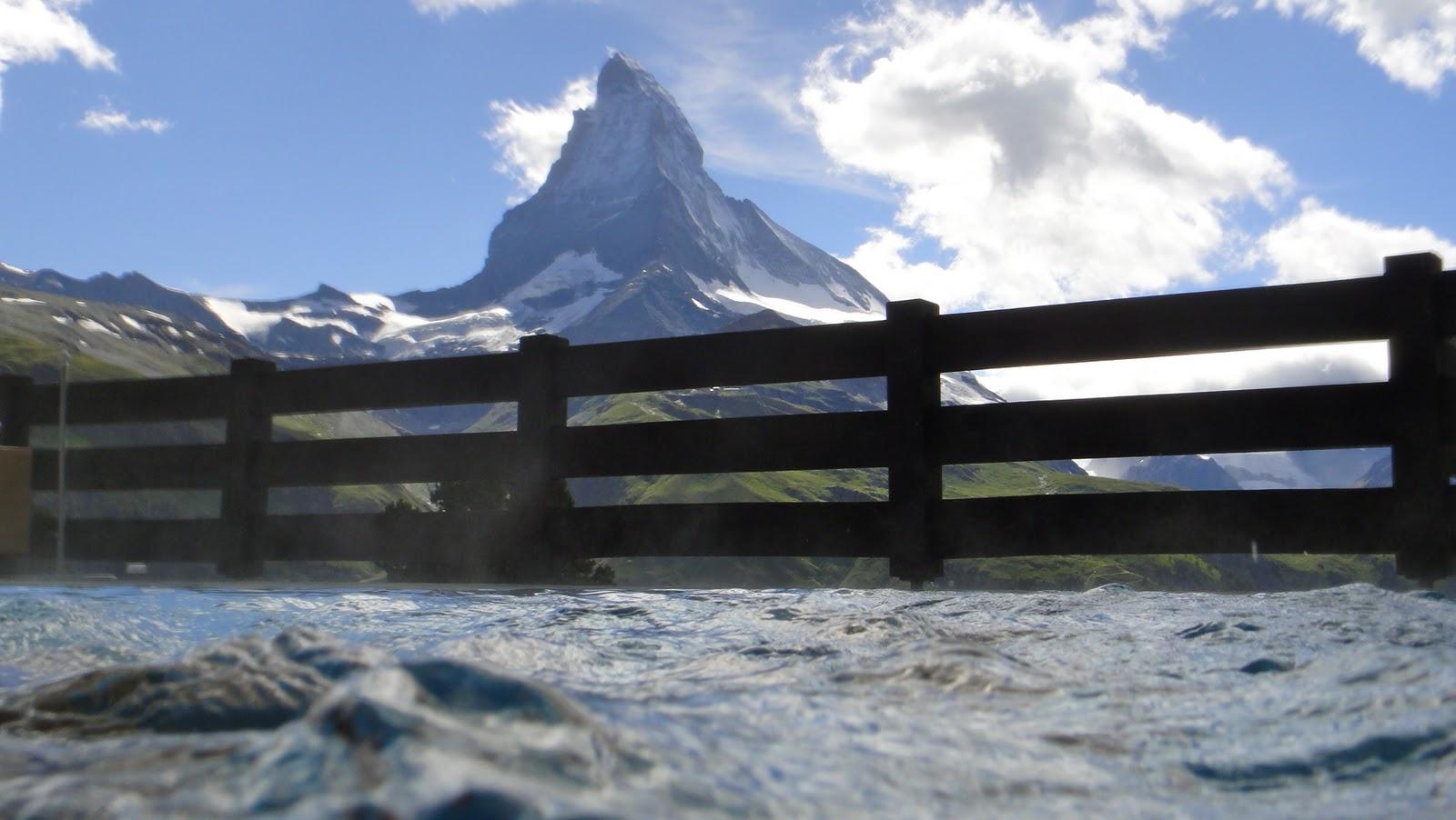 Zermatt 2222 m tres de plaisirs en suisse for Piscine zermatt