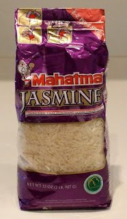 Mahatma Jasmine Rice package