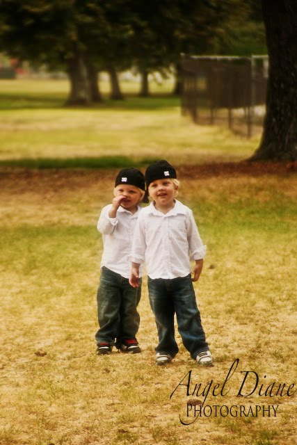 3-year old twin boys