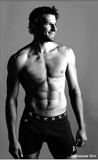 Ryan Kesler Sans Shirt