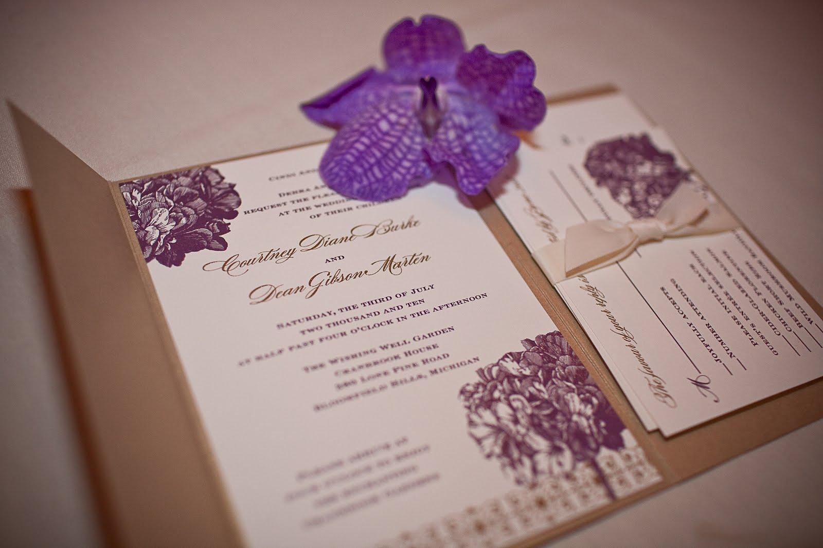 A garden wedding & Blush Paperie\'s Hydrangea Wedding Invitations ...