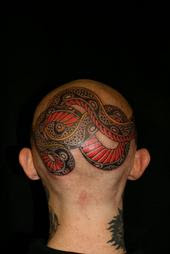 Head Snake Tattoo Pictures