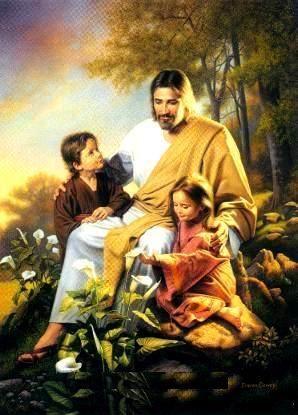 Yesus+dan+anak-anak