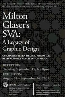 Milton Glaser's SVA