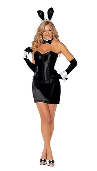 desire4mo looking back at the playboy bunny costume. Black Bedroom Furniture Sets. Home Design Ideas