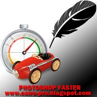 تسريع الفوتوشوب -حل مشكلة بطئ الفوتوشوب MAKE PHOTOSHOP FASTER
