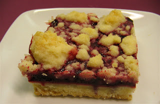 Arctic Garden Studio: Cranberry Streusel Shortbread Bars