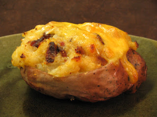 Arctic Garden Studio: Twice Baked Chipotle Potatoes