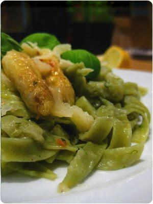 Spargel, Tagliatelle, Pasta, Nudeln, Gericht, Rezept, Selbermachen, Vegetarisch