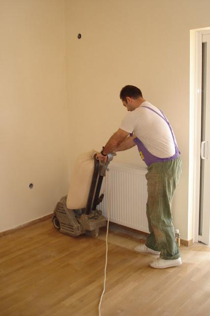 Καθαρισμός και συντήρηση  σε ξύλινα πατώματα