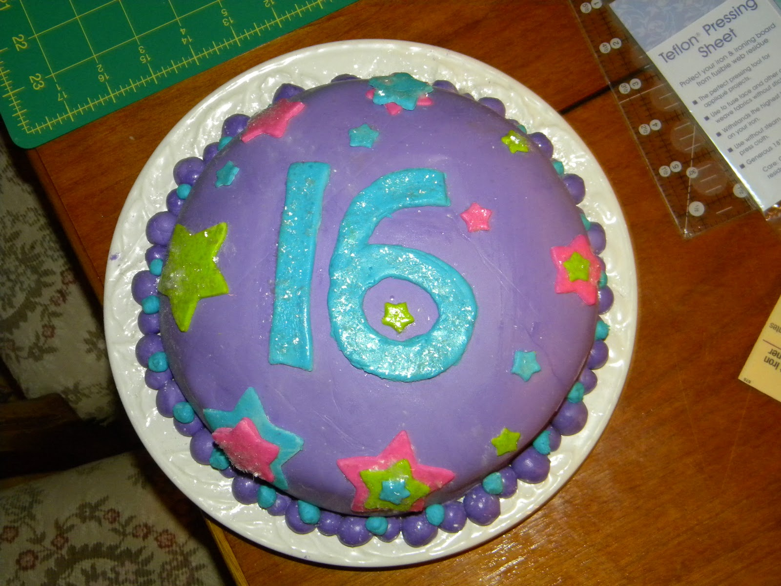 16 year old birthday cake