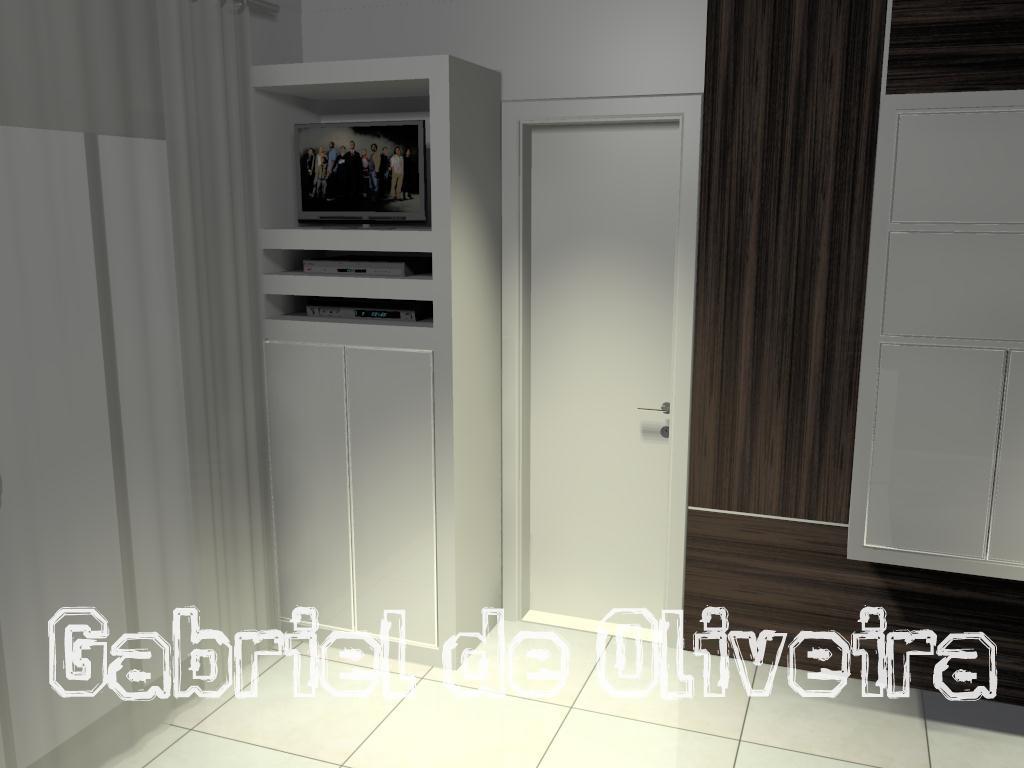 Projetos Gabriel Oliveira: Cozinhas compactas #7D7D4E 1024 768