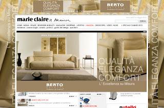 Berto salotti blog su marie claire maison berto salotti a tutta pagina - Marie claire casa ...