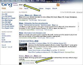 Facebook Like Information on Bing Results