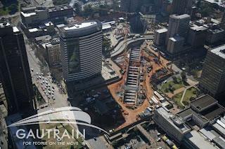 Gautrain - Park Station Johannesburg