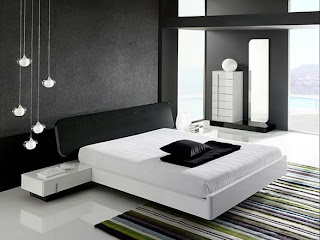 modern and minimalist bedroom interior design