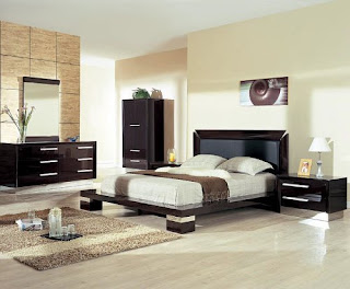 Modern and ntural design for bedroom