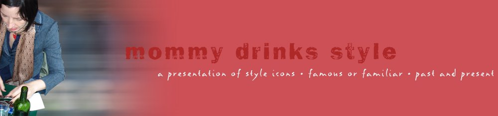 mommy drinks style