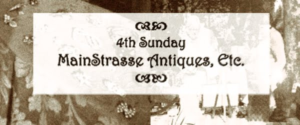 4th Sunday MainStrasse Antiques