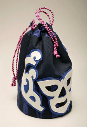 Lucha Libre Drawstring Bag