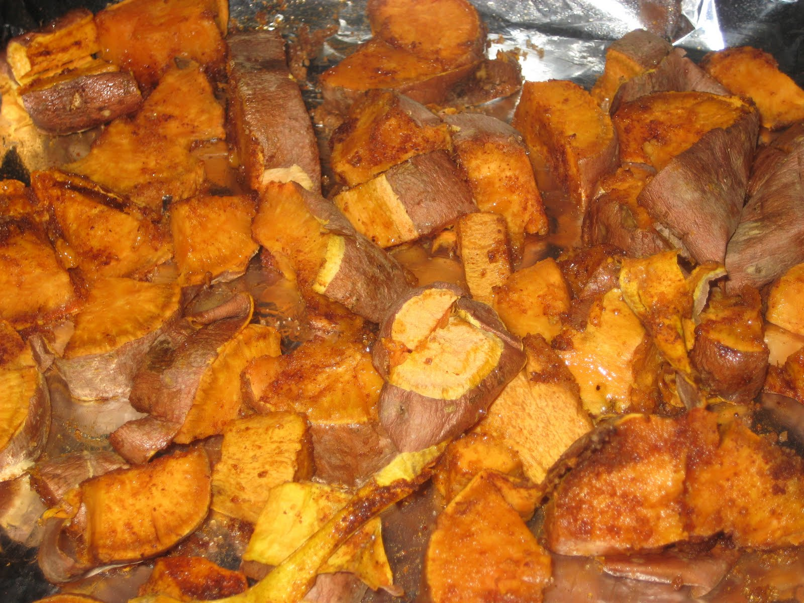 chili rubbed roasted sweet potatoes 4 medium sweet potatoes 3 t raw ...