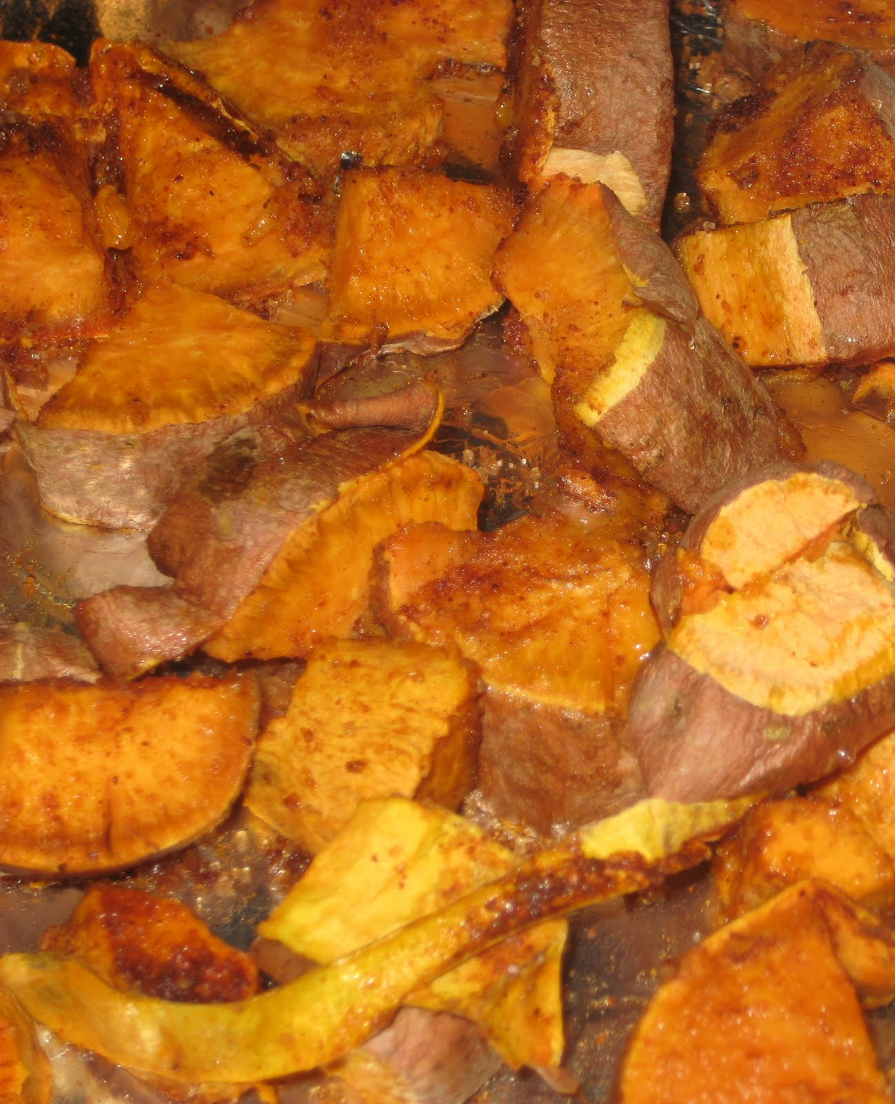 21st Century Urban Pioneers: Chili-Rubbed Roasted Sweet Potatoes