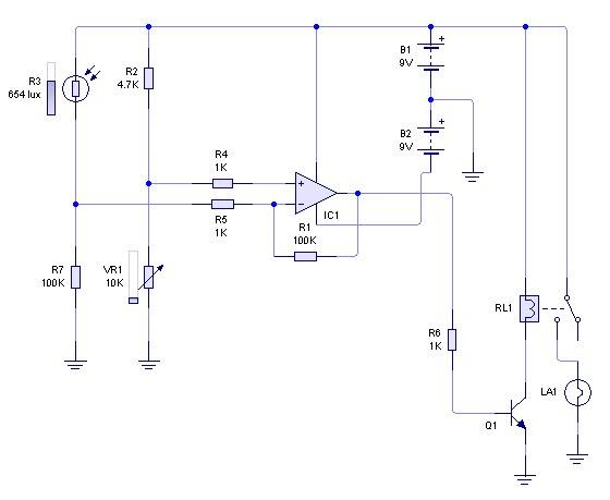 Circuito Operacional : Trabajos prácticos de electrónica amplificador