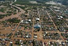 imagem da enchente de setembro