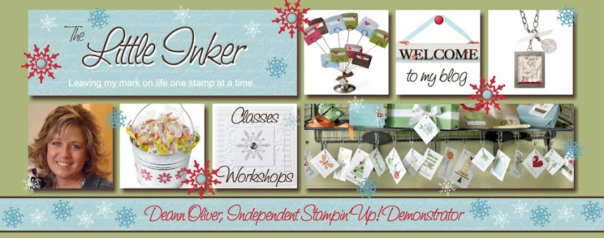 The Little Inker, Deann Oliver, Stampin' Up! Demonstrator