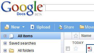 Google Docs učitava i PDF datoteke