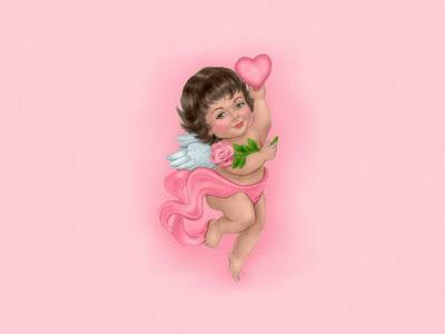 Anđeo ljubavi za Valentinovo
