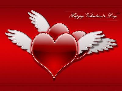 Happy Valentines Day - e-card čestitka za Valentinovo