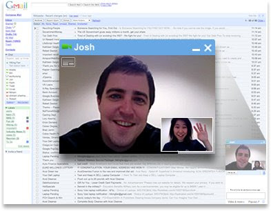 Gmail glasovni i video chat