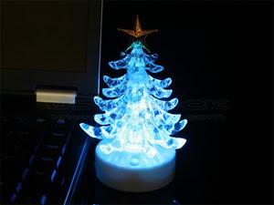 USB glazbeno Božićno drvce