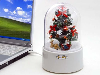 Moćno USB Božićno drvce