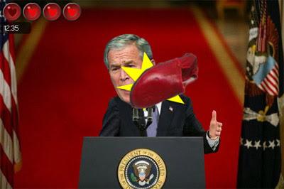 igre george Bush Irak cipele