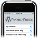 Download Wordpress from iPhone iPod Touch