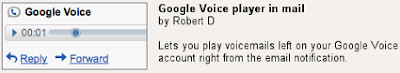 Google Voice Player - Gmail