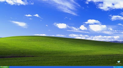 Bliss Najpoznatija pozadina za desktop u Windows XP slike