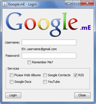 Download Google.mE - upravljajte sa svim Google online servisima sa desktopa