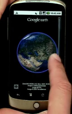 Download Google Earth za Android platforme