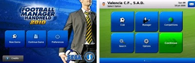 Download igra Football Manager Handheld 2010 za iPhone