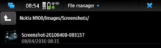screenshotovi u Nokia N900 mobiteli trikovi