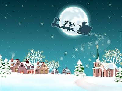 Božićne slike djed Mraz besplatne čestitke pozadine za desktop download free wallpapers e-cards Christmas Santa Claus